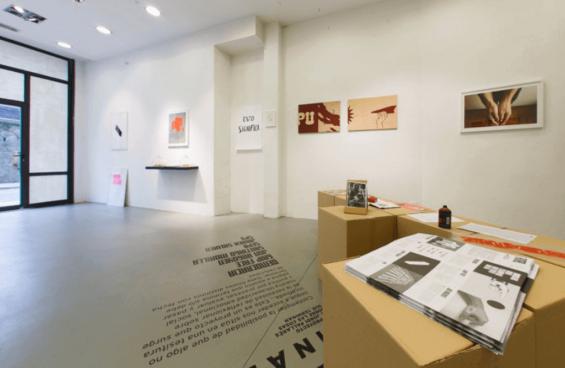 SC Gallery, entrada de la galería