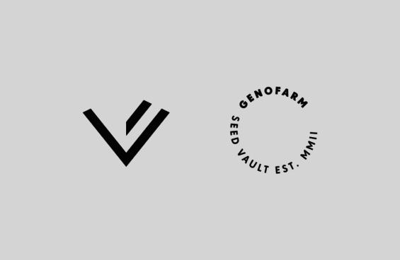 Logotipo de Genofarm